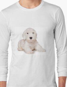 White Terrier puppy Long Sleeve T-Shirt