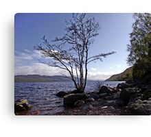 From the Shores of Loch Ness, Scotland Canvas Print
