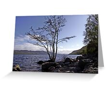 From the Shores of Loch Ness, Scotland Greeting Card