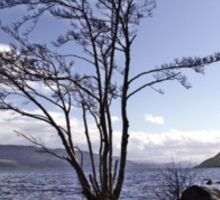 From the Shores of Loch Ness, Scotland Sticker