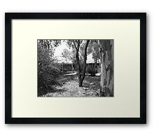 Outback Lodging Framed Print