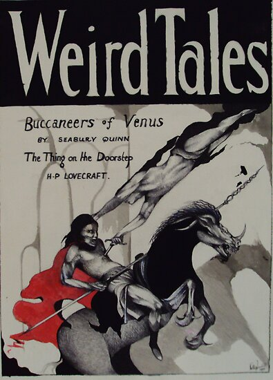 Weird Tales ( The Buccaneers Of Venus ) by John Dicandia  ( JinnDoW )
