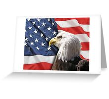 9/11 Tribute: Proud to be an American Greeting Card
