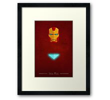 The Prodigy - Iron Man Framed Print
