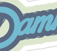 DAMN ! Sticker