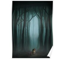Small Horse, Big Forest Poster
