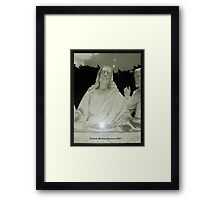 Love is the greatest! Framed Print