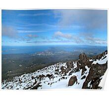 Hobart view. Poster