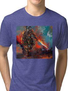 man of iron Tri-blend T-Shirt