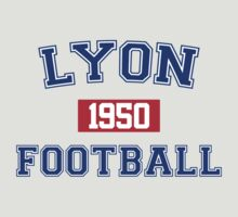 Lyon Football Athletic College Style 1 Gray by Toma-51