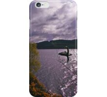 Here Comes Nessie iPhone Case/Skin