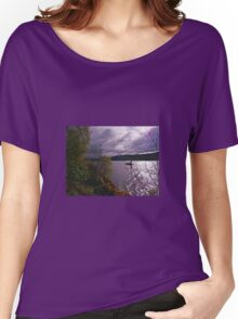 Here Comes Nessie Women's Relaxed Fit T-Shirt