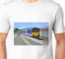 Class 150 DMU arriving at Wigan Wallgate station Unisex T-Shirt