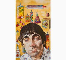 Keith Moon : light blue touch paper.. Unisex T-Shirt