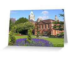 Abbey House & Gardens, Winchester, southern England Greeting Card