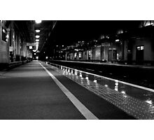 MKC Platform 3 - 10:22pm Photographic Print