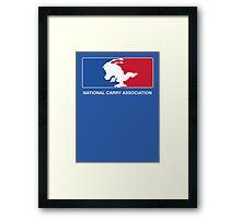 National Carry Association Framed Print