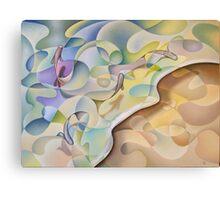 Shoreline In D Minor #2 Canvas Print