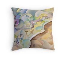Shoreline In D Minor #2 Throw Pillow