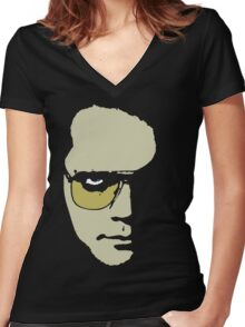 Author, Visionary, Dreamweaver plus Actor Women's Fitted V-Neck T-Shirt