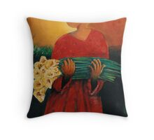 A peace Offering Throw Pillow