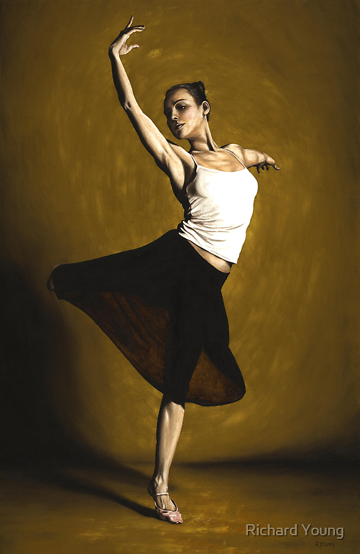 Elegant Dancer by Richard Young