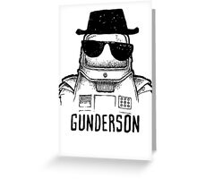 Walter (the wobot) Gunderson Greeting Card