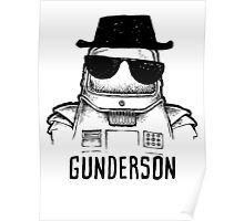 Walter (the wobot) Gunderson Poster