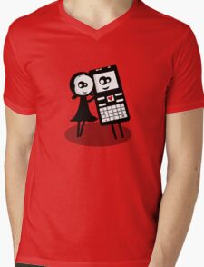 Me and my best friend Mens V-Neck T-Shirt
