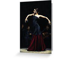 Encantado por Flamenco Greeting Card