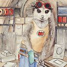 Fitztown welder Meerkat by morgansartworld