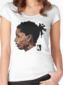 A$AP ROCKY- ART  Women's Fitted Scoop T-Shirt