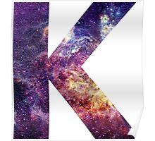 K nebula stars pattern  Poster