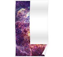 L nebula stars pattern  Poster