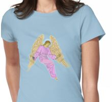 Angel. Womens Fitted T-Shirt