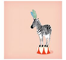 Circus Zebra by Lisa Rupp