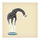 Circus Giraffe by Lisa Rupp