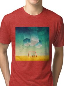 They're Coming (The Cubes) Tri-blend T-Shirt