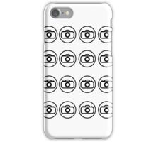 Camera icons iPhone Case/Skin
