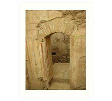 Ancient Doorway Art Print
