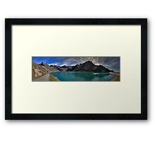 turquoise waters Framed Print