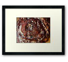 The Hidden Land - Impact Crater Framed Print