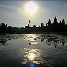 ANGKOR WAT TiME 10am| CAMBODIA by webgrrl