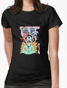 MEDTATION OF DEATH Womens Fitted T-Shirt