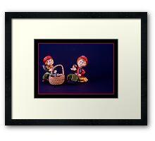 Mary & Marge . Framed Print