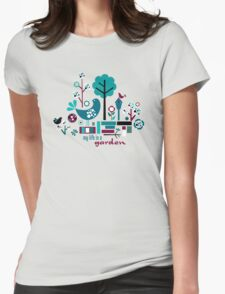 My Life is a Garden Womens Fitted T-Shirt