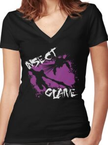MH4U Insect Glaive (CLASS SERIES) Women's Fitted V-Neck T-Shirt