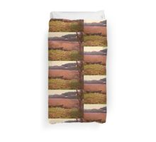 Looking Across the River Duvet Cover