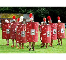 Romans at Ribchester Photographic Print