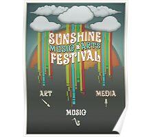 Sunshine Music Festival Poster Poster